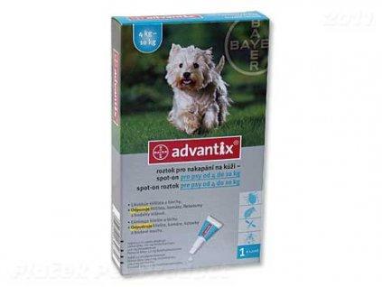 BAYER Advantix Spot-On pro psy 4 - 10 kg (1ml)