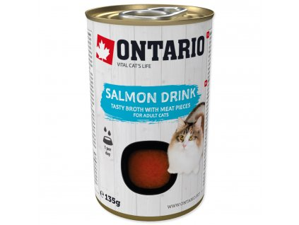 62210 ontario cat drink salmon 135g