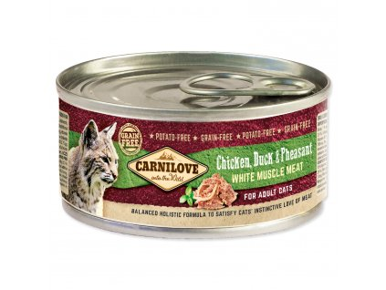 CARNILOVE Chicken, Duck & Pheasant for Adult Cats 100g