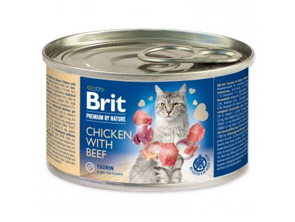 BRIT Premium by Nature Chicken with Beef 200g