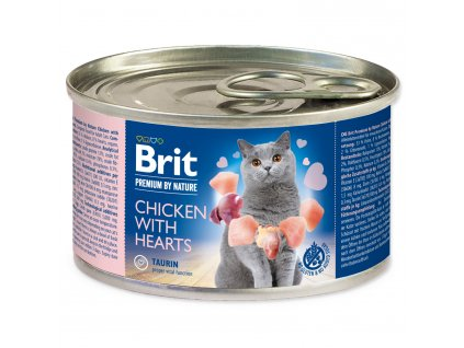 BRIT Premium by Nature Chicken with Hearts 200g