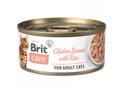 BRIT Care Cat Chicken Breast with Rice 70g