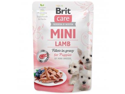 BRIT Care Mini Puppy Lamb fillets in gravy 85g