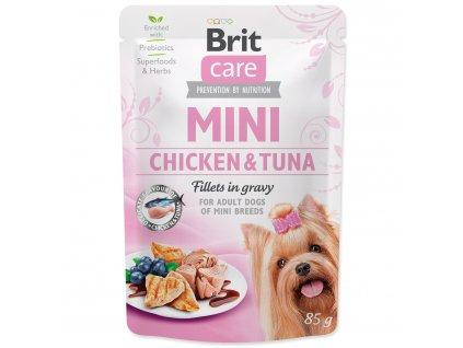 BRIT Care Mini Chicken & Tuna fillets in gravy 85g