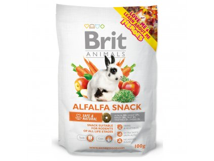 Snack BRIT Animals Alfalfa for Rodents 100g