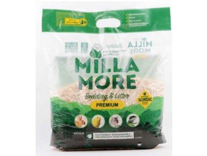 Podestýlka hlod. štěpky osika Milla More Premium 10 l