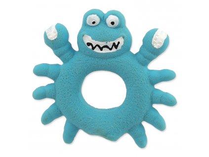 Hračka DOG FANTASY Latex Krab modrý se zvukem 10 cm