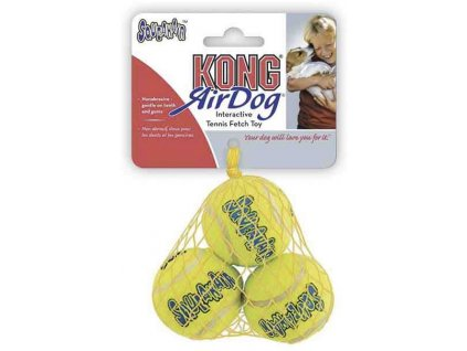 Hračka tenis Air dog Míč Kong 3 ks extra small