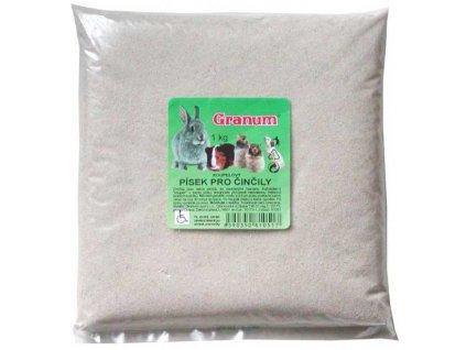 Písek Činčila Granum 1 kg