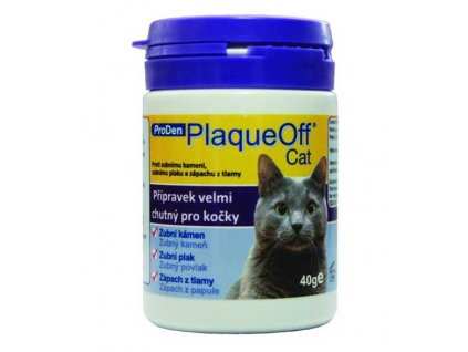 PlaqueOff Cat plv 40 g