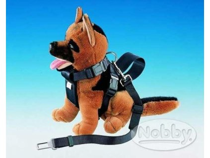 Postroj nylon s bezpeč. pásem Nobby 80 - 110 cm, vel. XL