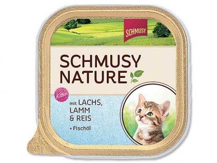 SCHMUSY NATURE vanička kitten losos + jehně 100g