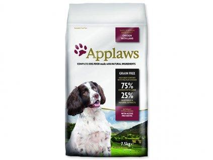 APPLAWS Dry Dog Lamb Small & Medium Breed Adult 7,5 kg