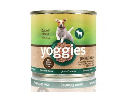 yoggies jehneci konzerva s bramborem a karotkou 200