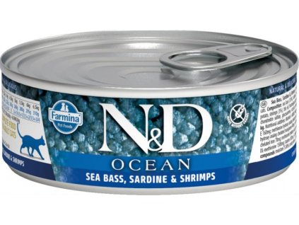 nd ocean mořský okoun sardinky krevety 80g