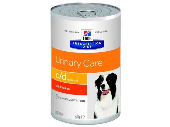 Hill's Canine C/D konzerva Multicare 370 g