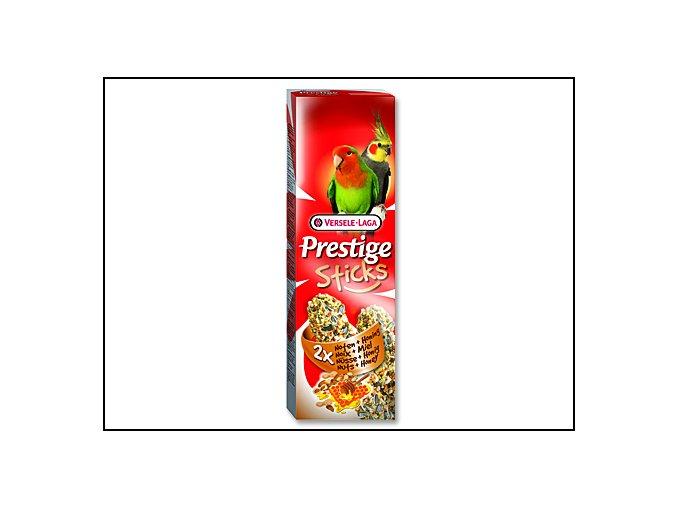 Tyčinky VERSELE-LAGA Prestige ořechy a med pro střední papoušky 140 g