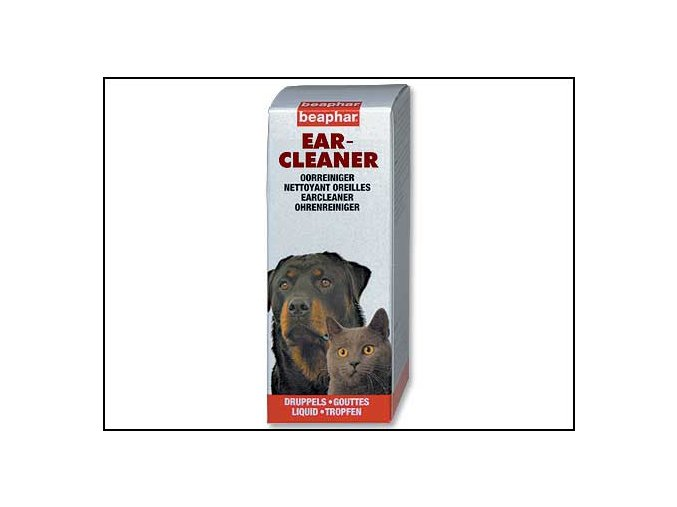 Ušní kapky Beaphar Ear Cleaner 50 ml