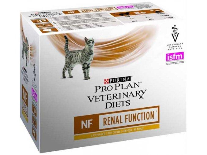 Purina PPVD Feline - NF Renal Funct. Chicken kapsička 85 g