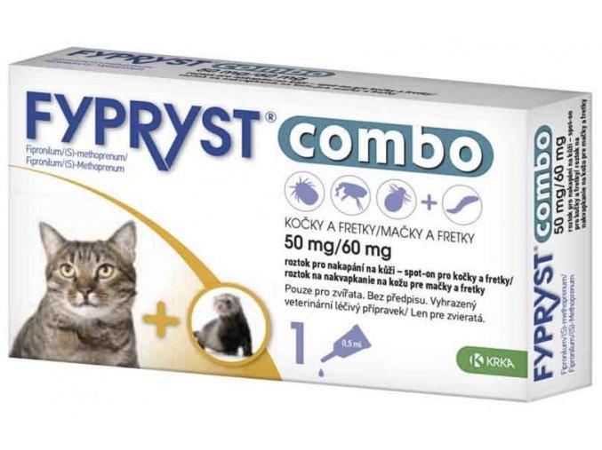 Fypryst Combo spot on Cat 50/60mg 1x0,5 ml