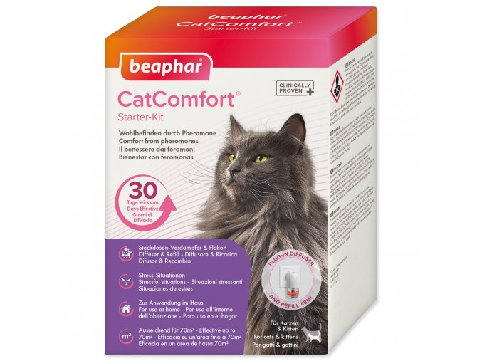 Difuzér CatComfort sada Kočka 48ml