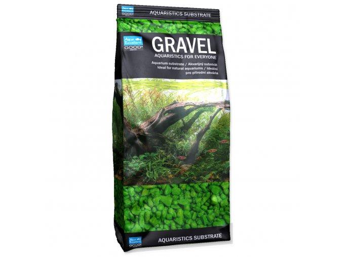 Písek AQUA EXCELLENT 3-6 mm zelený