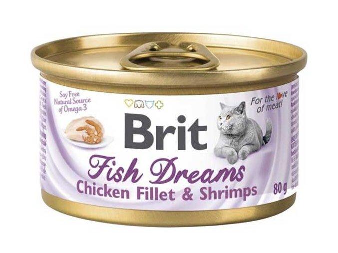 brit care fish dream chicken