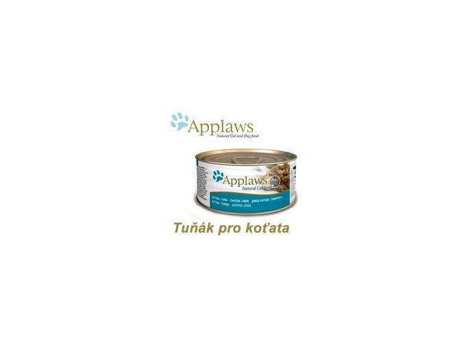 Applaws konzerva Cat Kitten tuňák 70 g