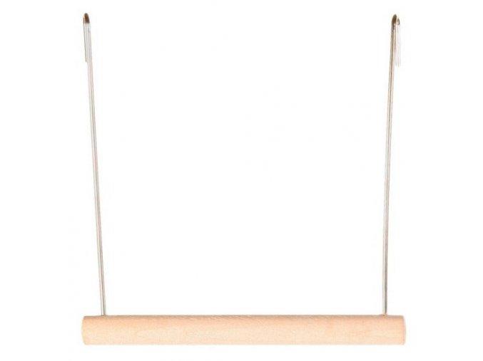 Houpačka Trixie dřevěná 12 x 13 cm