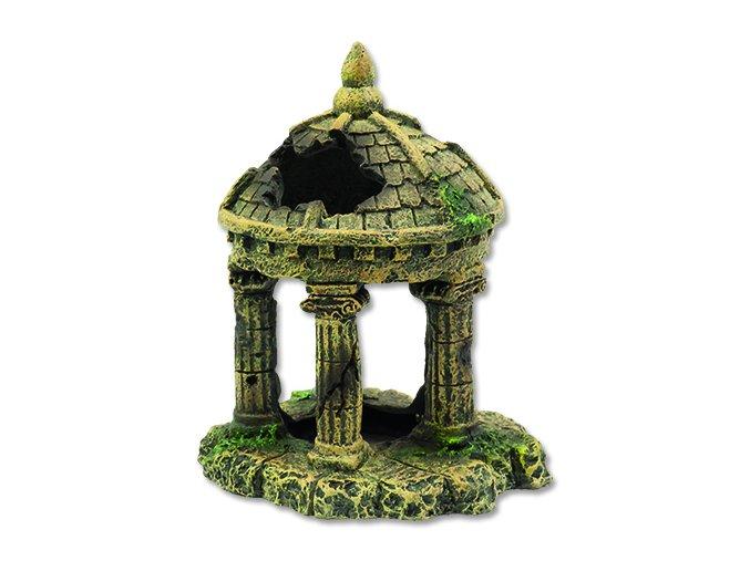 Dekorace AQUA EXCELLENT zřícenina hradu 10,4 cm