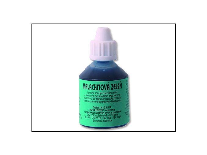 Dezinfekce AQUA EXOTIC Malachitová zeleň 25 ml