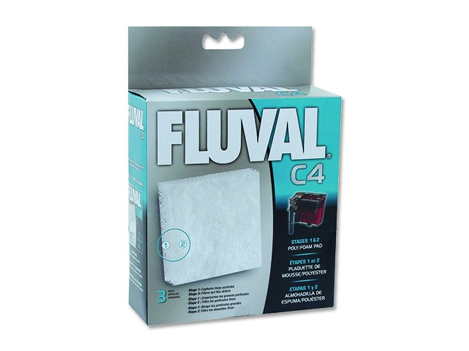 Náplň molitan polyester FLUVAL C4 3 ks