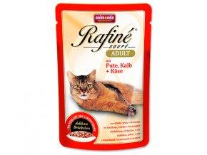 Kapsička ANIMONDA Rafine soupe krůtí + telecí + sýr 100 g