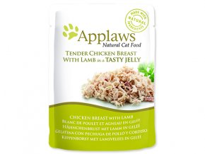APPLAWS kapsička cat pouch chicken with lamb in jelly 70 g