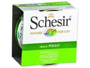 Schesir konzerva Cat kuřecí v želé 85g