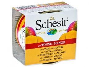 Schesir konzerva Cat Fruit tuňák + mango 75g