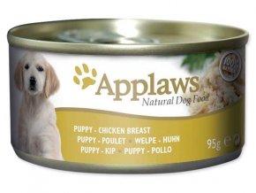 Applaws konzerva Dog 95 g Puppy Kuřecí