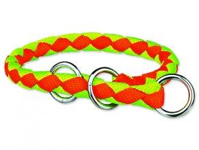 Polostahovací Obojek TRIXIE Cavo neon oranžovo-zelený M