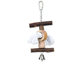Hračka TRIXIE Living Toy provaz / zvoneček