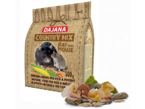 Krmivo COUNTRY MIX Rat & Mouse 500 g