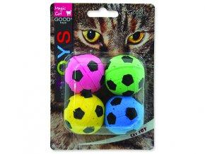 Hračka MAGIC CAT míček pěnový fotbalový 3,75 cm 4 ks