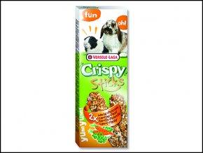 Tyčinky VERSELE-LAGA Crispy s mrkví a petrželkou pro králíky a morčata 110g