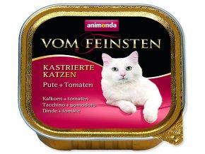 Paštika ANIMONDA Vom Feinsten Castrate krůtí + rajče 100g