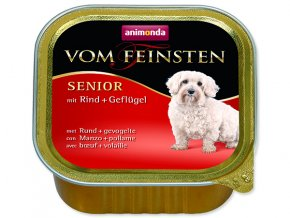 Paštika ANIMONDA Vom Feinsten Senior hovězí + drůbeží 150g