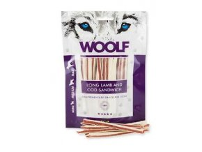 WOOLF Long lamb and cod sandwich 100 g