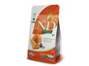 N&D Grain Free Cat Adult Pumpkin Herring & Orange