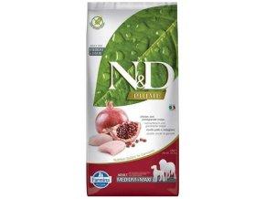 N&D PRIME Dog Grain Free Adult M/L Chicken & Pomegranate