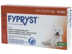 Fypryst Spot onDog S 2-10kg 1x0,67ml