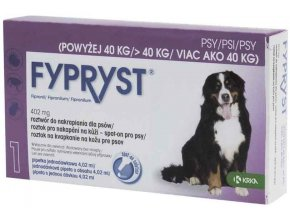 Fypryst spot on Dog XL nad 40kg 1x4,02ml