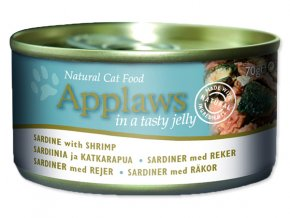Applaws Konzerva Cat Jelly Sardine with Shrimp 70g